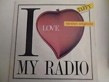 45 Tours TAFFY I love my radio 721821