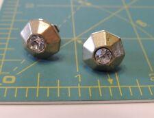 Lia Sophia Matte Gold Rhinestone Stud Pierced Earrings d 5