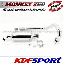 KDF MUFFLER EXHAUST PIPE 50 MINI BIKE K0 K1 K2 50A Z FOR HONDA MONKEY Z50 Z50A