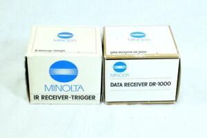 Minolta DR-1000 Data Receiver & IR Receiver-Trigger, In Box - MUST READ! (4469)