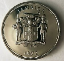 1972 JAMAICA 10 CENTS - Low Mintage Proof Coin - Jamaica Proof Bin #2