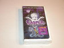 CASPER A SPIRITED BEGINNING 1997 VHS 4172 CLAMSHELL FACTORY SEALED BRANS NEW