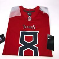 Nike Marcus Mariota Nike Red Jersey NFL Tennessee Titans NWT Youth Kids Large