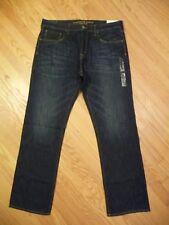 Mens NEW AE American Eagle Classic Boot Cut Dark Denim 100% Cotton Jeans 38 X 36