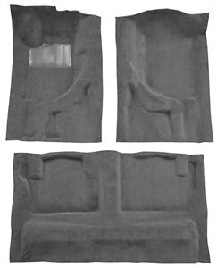 1988-1990 Volvo 740 GLE 4 Door Complete Cutpile Replacement Carpet Kit