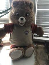 Teddy Ruxpin Talking Bear Vint 00006000 age