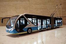 1-way bus model for BRT 1-43 BJD WG 180F Dual-source trolley bus model  (L)