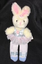 "BALLERINA BUNNY RABBIT FINGER PUPPET 9"" RUSS Plush Stuffed Animal TOY"