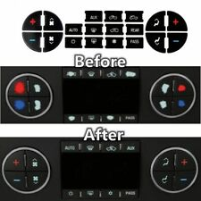 1* AC Button Repair Kit Decal Stickers for Yukon Denali Acadia Sierra GM Tahoe