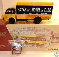 CORGI HERITAGE CAMION RENAULT FAINEANT BAZAR DE L'HOTEL DE VILLE BHV PARIS 71411