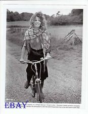 Julie Christie riding bucycle VINTAGE Photo Go-Between