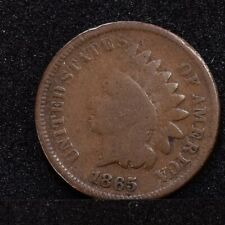 1865 Indian Cent - Fancy 5 - AG (#28610)