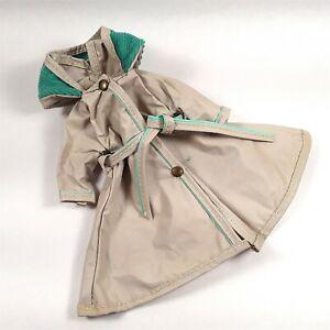 Vintage RAINCOAT #9252 Miss Revlon 10-1/2 inch Ideal Very Good Condition