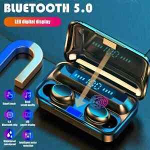 TWS Wireless Bluetooth Headphones Earpiece Earphones Earbuds iPhone Samsung UK