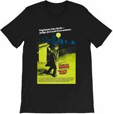 Death Wish Movie Poster Charles Bronson Movie Fan Tee Vintage Gift Men Women