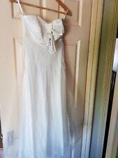 BNWT Womens Ivory Embellished Monsoon Bridal Dress. Size 8.