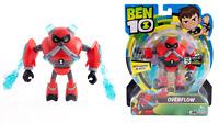 Ben 10 OVERFLOW With Water Blasts 11cm 4.5in Action Figure #76105 Brand New