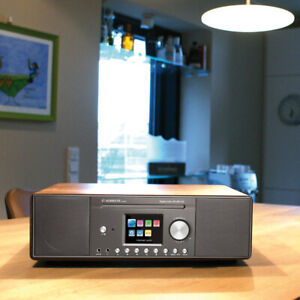 Albrecht DR 890 CD DAB+ UKW Internet Radio Digitalradio Stereo Walnuss