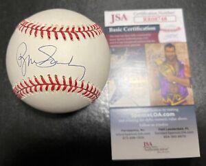 Ryne Sandberg ONLB Signed Auto Baseball Chicago Cubs JSA Early Signature RR08748