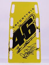 1/12 VALENTINO ROSSI PIT BOARDS BANNER STAND BOX MOTOGP VR46 FORTYSIX GIALLO NEW