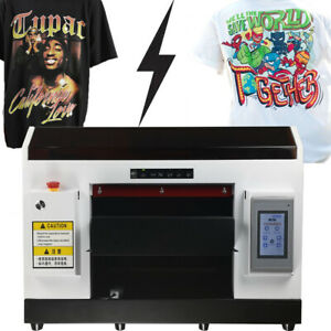A3 DX5 Direct To Garment Printer DTG Printer T-Shirt Flatbed Printer with Holder