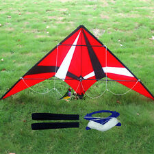 NEW 1.8m Red Professional dual line control stunt Kite with flying tools Toys