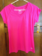 Everlast M NWT Women't Fushia Pink Short Sleeve Knit Top