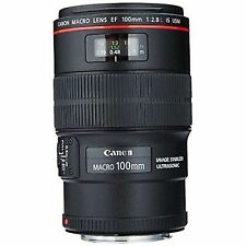100mm Fixed/Prime Lenses for Canon Cameras