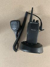 2 Motorola Cp200 Two Way Radio With Microphone