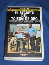 PELICULA VHS - TINTIN Y EL TOISON DE ORO
