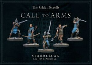 THE ELDER SCROLLS CALL TO ARMS STORMCLOAK STARTER SET SEALED IN STOCK