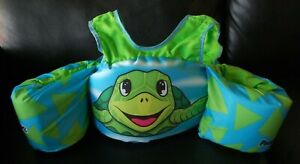 "NEW/Tags Body Glove Turtle Life Jacket ""Learn to Swim"" 30-50 lbs. USCG App"