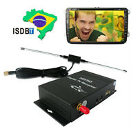 Terrestrial ISDB-T Tuner Digital TV Box receiver Car Mobile Radio South American