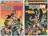 Ironjaw  - 2 Book Lot - #1 & #3 -  Atlas Comics (1975)