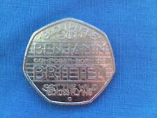 2013  BENJAMIN  BRITTEN  FIFTY PENCE COIN