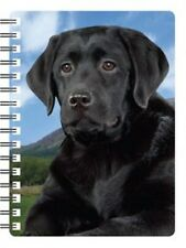 Labrador (Black) 3D Notebook