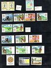 Philippines STAMP LOT, MNH, 1988-1990, PERFORATED  & IMPERFORATED