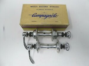 Vintage NOS Classic Campagnolo Nuovo Record Hubs 32 Holes Boxed 4 Vintage Bike