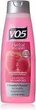 VO5 Herbal Shampoo, Sun Kissed Raspberry with Chamomile Extract 12.50 oz 9pk