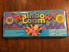 Original Rainbow Loom Rubber Band Crafting Kit 2014 Pre-owned- Handicraft Gifts!