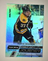 2020-21 UD Synergy Stanley Cup Journey Regular Season CJPB Patrice Bergeron /999