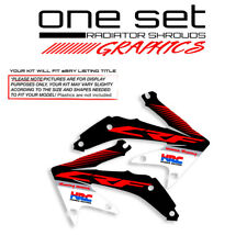 2005 2006 2007 2008 HONDA CRF 450R RADIATOR SHROUDS GRAPHICS KIT MOTOCROSS DECAL
