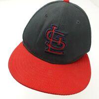 St Louis Cardinals New Era Fitted 7 Adult Baseball Ball Cap Hat