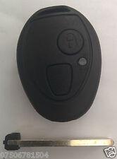 Rover Mg Bmw Mini One Cooper R50 Zt Zr 75 2 botón Remoto Llavero Funda Blade