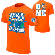 CATCH WWE T-shirt CENA Never Give Up Taille XL