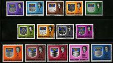 Northern Rhodesia  1963   Scott # 75-88   Mint Very Lightly Hinged Set