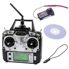Flysky FS-T6-RB6 FS 2.4GHz RC Helicopter Transmitter 6CH 6 Channel Radio -Mode 2
