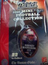 New England Patriots 2006 set 22 Mini Player Footballs