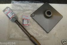 BOSCH SDS MAX - TAPER ADAPTOR + 150MM TAMPER PLATE 1 618 609 003 + 1 618 633 102