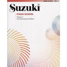 Suzuki Piano School International Edition Book - Vol 2